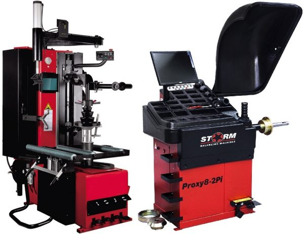 Комплект TS-239 Станок шиномонтажный суперавтомат + Балансировочный станок PROXY 8-2pi