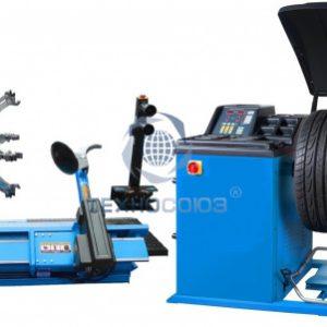 Комплект TS-56D Шиномонтажный стенд грузовой + TS-850 Балансировочный станок