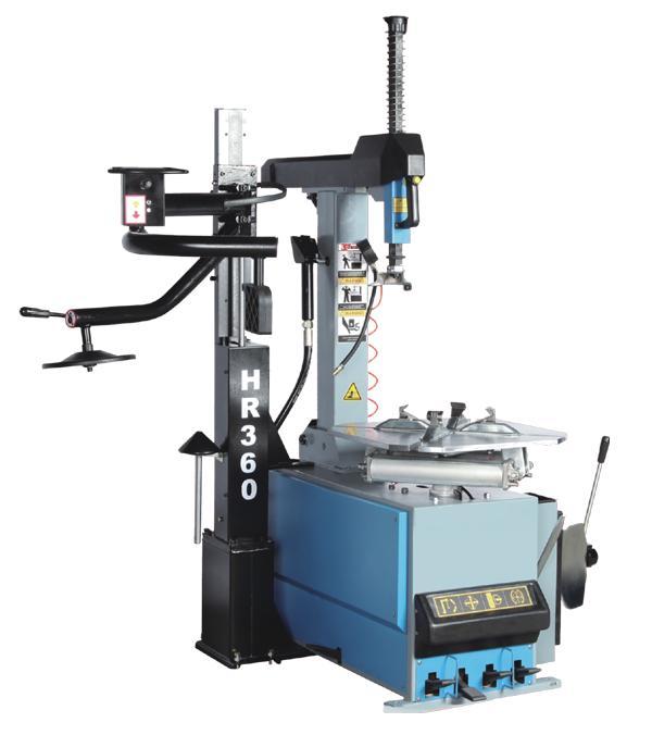 TS-24AC+HR360 Автоматический станок шиномонтажный
