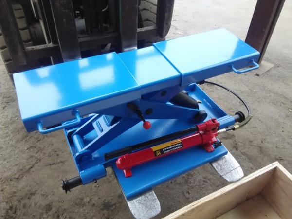 TS-3 Подъемник автомобильный канавный ручной (траверса)