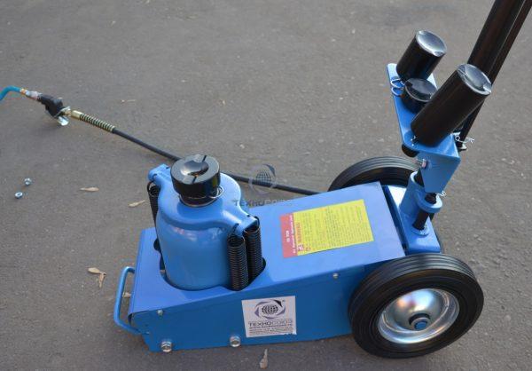 TS1600-6 Домкрат грузовой подкатной пневмогидравлика