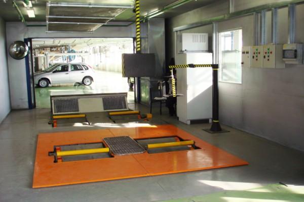 СДМ 1-3500.200 Динамический роликовый стенд