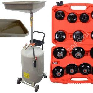 TS-2081+ES0901 Маслосборник + Набор съемников масляных фильтров