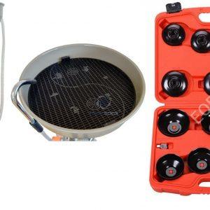 TS-2097+ES0901 Маслосборник + Набор съемников масляных фильтров