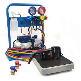 AC-3014 Установка для заправки кондиционеров