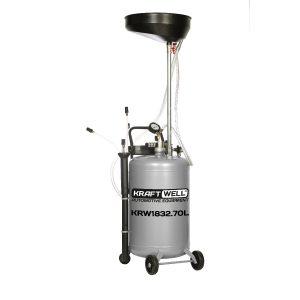 KRW1832.70L KraftWell Установка для слива и откачки масла