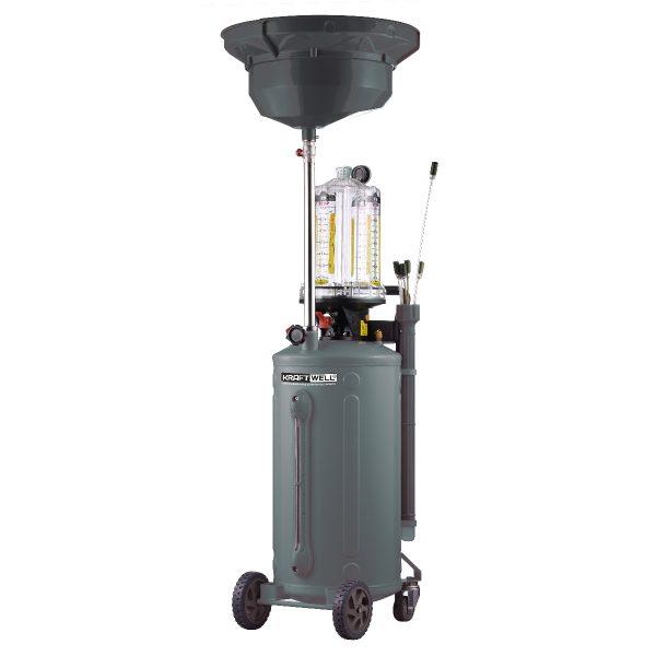 KRW1839.80 KraftWell Установка для слива и откачки масла и антифриза