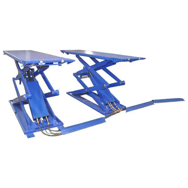 KRW3FS-blue KraftWell Подъемник ножничный