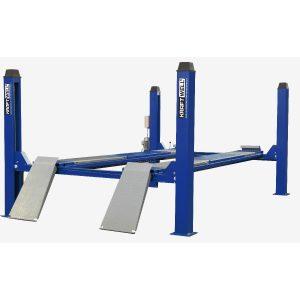KRW6.5WA-blue KraftWell Подъемник четырехстоечный
