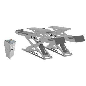 KRW35WA-LT KraftWell Подъемник ножничный