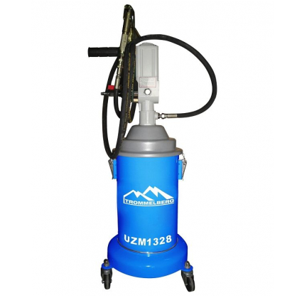 UZM1328 TROMMELBERG Солидолонагнетатель с пневматическим насосом