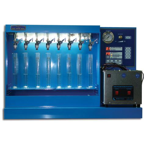 SMC-3003E NEW Стенд для УЗ очистки и диагностики инжекторов